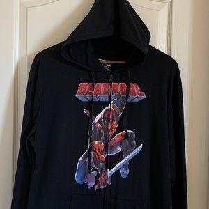 Marvel DeadPool Zipped Hoodie